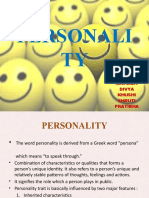 personality  final ppt