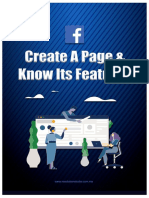 Create A Page & Know Its Features