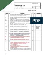 Checklist internal audit  2019.docx