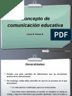 concepto de comunicacion educativa