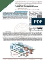 Business Intelligence Computational Intelligence in Vehicle and Transportation System