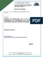 Informe tecnico calle Paraguay BORRADOR