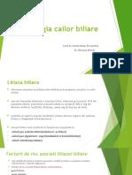 Curs 4 - Patologia cailor biliare 1
