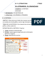 TEMA 3 lengua 1º ESO Santillana