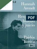 Arendt, Hannah - Responsabilidad y Juicio.pdf
