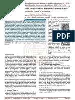 """Study of an Innovative Construction Material - """"Basalt Fiber"""""""
