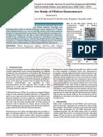 Comparative Study of Fileless Ransomware