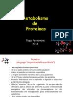 Metabolismo de Proteínas