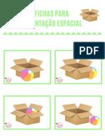 FICHAS PARA TRABALHAR ORIENTAÇÃO ESPACIAL