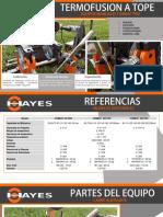 2. CATALOGO MAQUINAS DE TERMOFUSION MANUAL COMBAT PRO HAYES ESPANOL.pdf