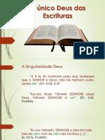 O Único  Deus das Escrituras.pdf