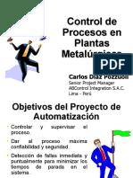 Control de Procesos en Plantas Metalúrgicas