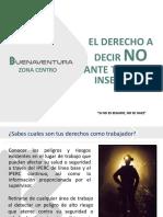 1.- DERECHO A DECIR ¡NO!