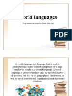 World-languages