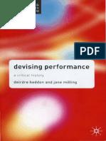 Heddon Deirdre & Jane Milling - Devising Performance A Critical History.pdf