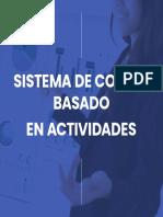 Manual Sistema de Costeo Basado en Actividades
