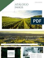 catalogo Vinhos