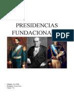 PRESIDENCIAS FUNDACIONALES.docx