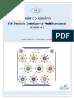 Guia TiX Teclado Inteligente Multifuncional