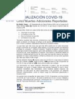 2020.05.29_COVID-19_ Cinco Muertes Adicionales Reportadas