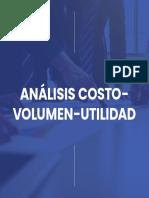 Manual Análisis costo-volumen-utilidad