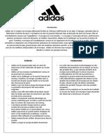 Analyse Swot Adidas
