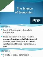 Introduction to Economics - O
