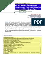 L'ADN et ses modes d'expression.pdf