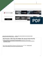 Did Honda's CEO Say EVs Make No Sense_ Not Exactly - ExtremeTech.pdf