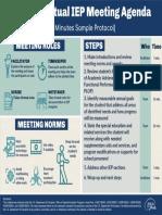 IEP Virtual Meeting Agenda
