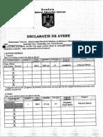 Declarație de Avere Marcel Vela - Aprilie 2020