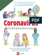 Corona virus Un libro para niñas y niños