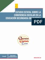 Estudio estatal sobre la convivencia escolar en la educación secundaria obligatoria 2011