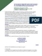 Ordin MS si MAI 874/81/2020 stare de alerta