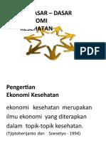 EKONOMI KESEHATAN UNISKA SESI 1.pptx