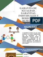 GARANTIA DE IGUALDAD