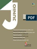 Programación cultural Castilla y León junio 2020