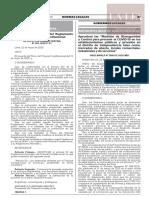 Resolución Administrativa N° 062-2020-P/TC