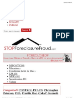 US Unable to Foreclose