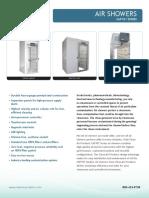 Air shower brochure