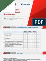 TEMA N° 10 - DOCUMENTACION Y PROCEDIMIENTO DE FISCALIZACION