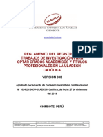 reglamento de registro de TI