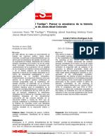 Rodríguez, Sandra (2020). Enseñanza de El Testigo