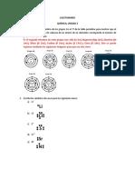 Cuestionario enlace químico