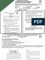 Informe de Actividades 27-30 Abril