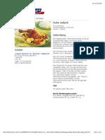 Bofrost* Rezepte - Huhn Indisch