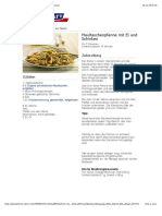 Bofrost* Rezepte - Maultaschenpfanne Mit Ei Und Schinken