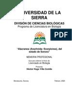 H.villA.alacranes Del Estado de Sonora.