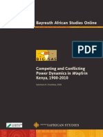 1806- Competing & Conflicting Power Dynamics in Waqfs in Kenya, 1900-2010- Suleiman A. Chembea