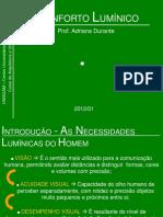 AULA 05 - CONFORTO LUMÍNICO